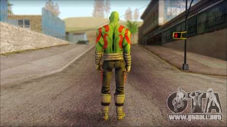 Guardians of the Galaxy Drax para GTA San Andreas segunda pantalla