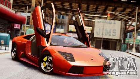 Lamborghini Murcielago 2005 para GTA 4
