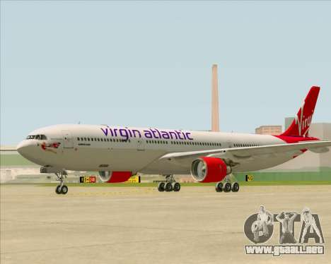 Airbus A330-300 Virgin Atlantic Airways para visión interna GTA San Andreas