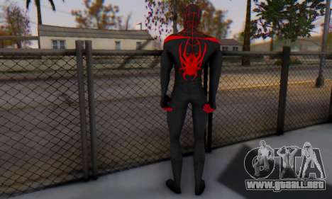 Skin The Amazing Spider Man 2 - New Ultimate para GTA San Andreas tercera pantalla