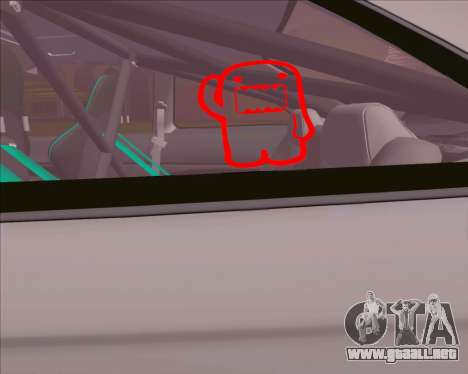Honda Civic EM1 V2 para la visión correcta GTA San Andreas