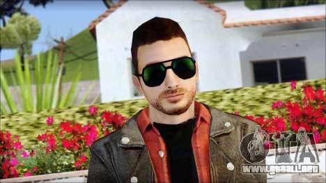 Young Bikerman Skin para GTA San Andreas tercera pantalla