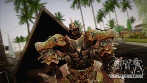 Grimlock v2 para GTA San Andreas tercera pantalla