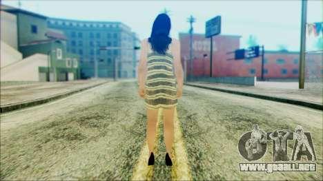 Sofyri from Beta Version para GTA San Andreas segunda pantalla