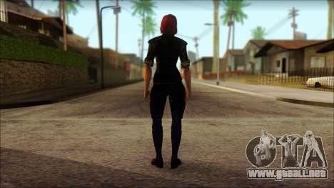 Mass Effect Anna Skin v6 para GTA San Andreas segunda pantalla