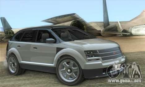 Vapid Radius 1.0 (HQLM) para GTA San Andreas