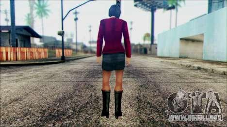 Manhunt Ped 10 para GTA San Andreas segunda pantalla