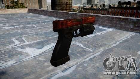 Pistola Glock 20 de tocino para GTA 4 segundos de pantalla