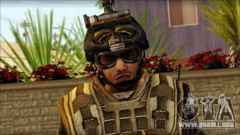Los soldados de la UE (AVA) v5 para GTA San Andreas tercera pantalla