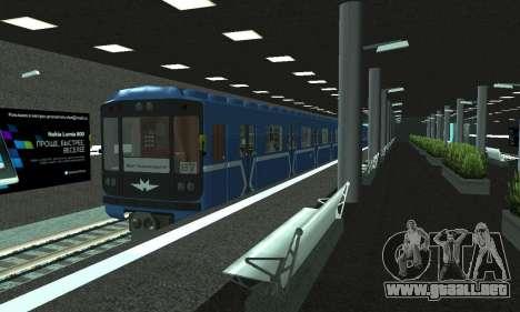 Una nueva estación de metro en San Fierro para GTA San Andreas décimo de pantalla