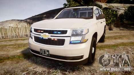 Chevrolet Tahoe 2015 PPV Slicktop [ELS] para GTA 4