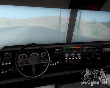 Pierce Arrow XT TFD Engine 2 para la vista superior GTA San Andreas