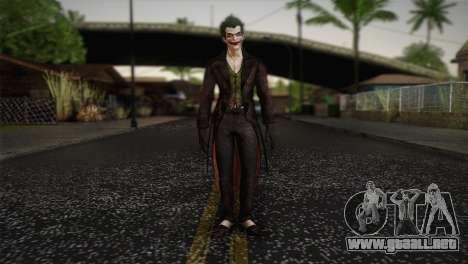 Joker From Batman: Arkham Origins para GTA San Andreas