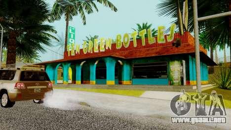 Nuevo bar en Ganton para GTA San Andreas