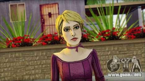 Vivian from Wolf Among Us para GTA San Andreas tercera pantalla