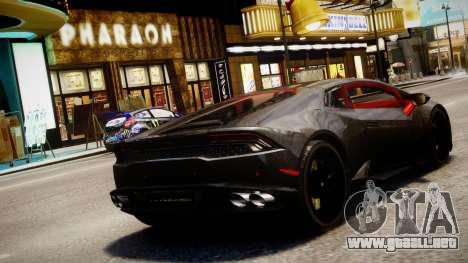 Lamborghini Huracan LP610-4 SuperTrofeo para GTA 4 left