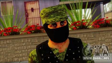 Skin Sedena Secretaria De La Defensa Nacional para GTA San Andreas tercera pantalla