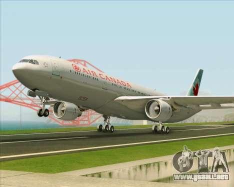 Airbus A330-300 Air Canada para GTA San Andreas left