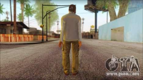 GTA 5 Ped 7 para GTA San Andreas segunda pantalla