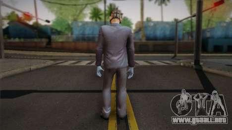 Hoxton From Pay Day 2 v1 para GTA San Andreas segunda pantalla