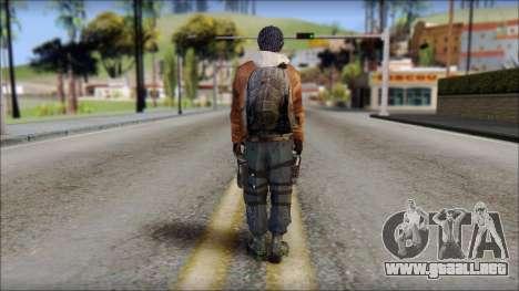 Division Skin para GTA San Andreas segunda pantalla