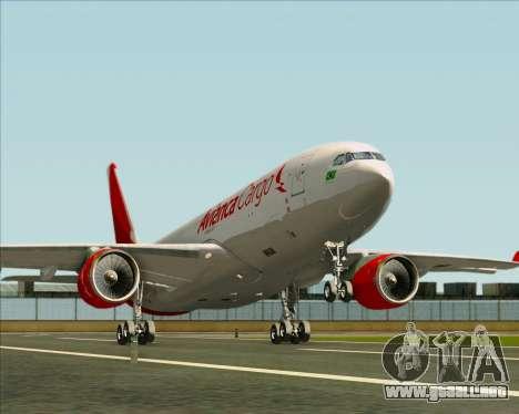 Airbus A330-243F Avianca Cargo para las ruedas de GTA San Andreas