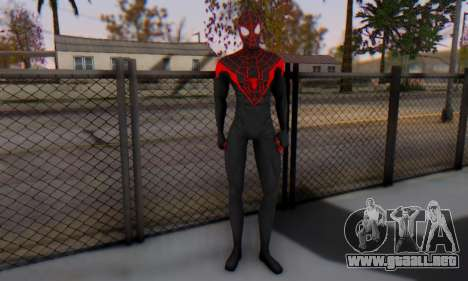 Skin The Amazing Spider Man 2 - New Ultimate para GTA San Andreas segunda pantalla