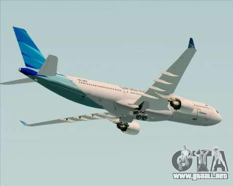 Airbus A330-300 Garuda Indonesia para GTA San Andreas