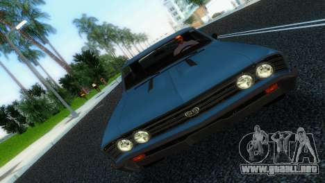 Chevrolet Chevelle SS 1967 para GTA Vice City vista lateral izquierdo