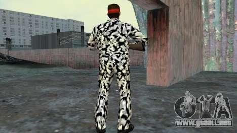 Camo Skin 05 para GTA Vice City sucesivamente de pantalla