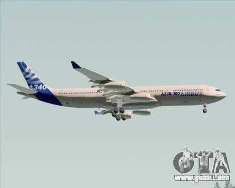 Airbus A340-311 House Colors para las ruedas de GTA San Andreas