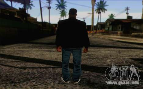 N.W.A Skin 2 para GTA San Andreas segunda pantalla