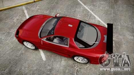 Mitsubishi 3000GT Tuner para GTA 4 visión correcta