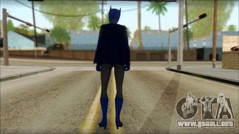 Batgirl para GTA San Andreas segunda pantalla