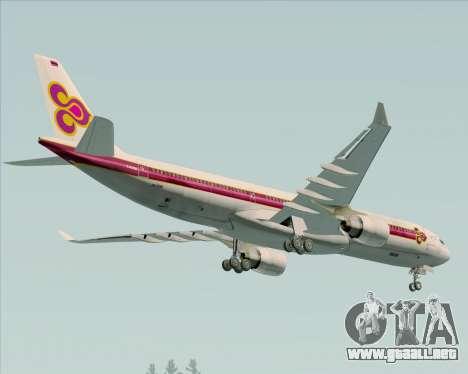 Airbus A330-300 Thai Airways International para el motor de GTA San Andreas