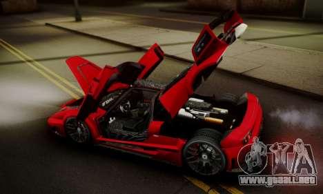 Ferrari Gemballa MIG-U1 para GTA San Andreas interior