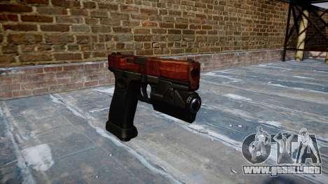 Pistola Glock 20 de tocino para GTA 4