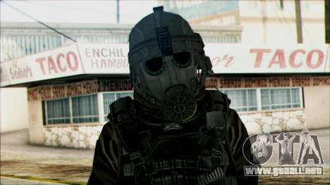 Los soldados aerotransportados (CoD: MW2) v2 para GTA San Andreas tercera pantalla
