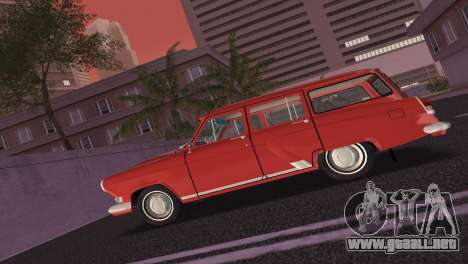 GAS 22 Volga 1965 para GTA Vice City vista posterior