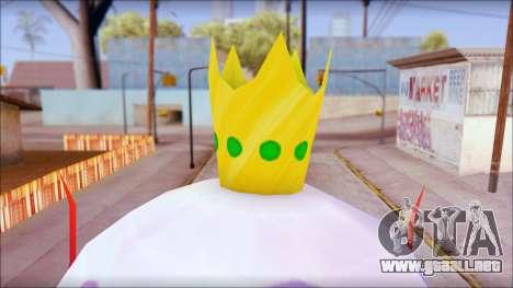 Kingjelly from Sponge Bob para GTA San Andreas tercera pantalla