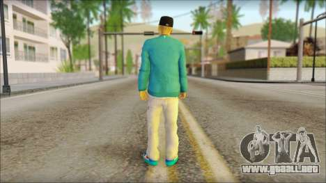 Superstar para GTA San Andreas segunda pantalla