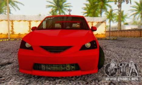 Dacia Logan B-61 para GTA San Andreas left