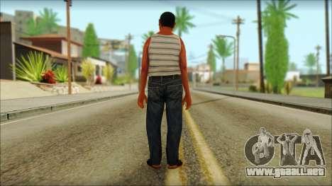 GTA 5 Ped 3 para GTA San Andreas segunda pantalla