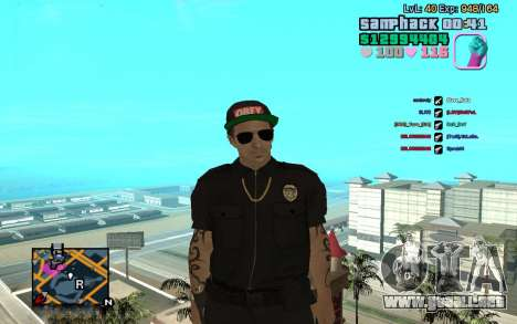 C-HUD GTA Vice City edited SampHack para GTA San Andreas