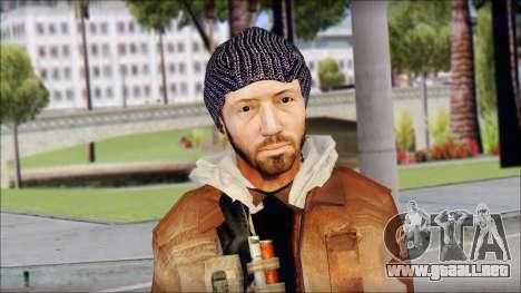 Division Skin para GTA San Andreas tercera pantalla