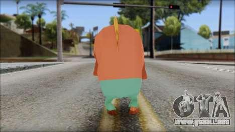 Boranfish from Sponge Bob para GTA San Andreas segunda pantalla
