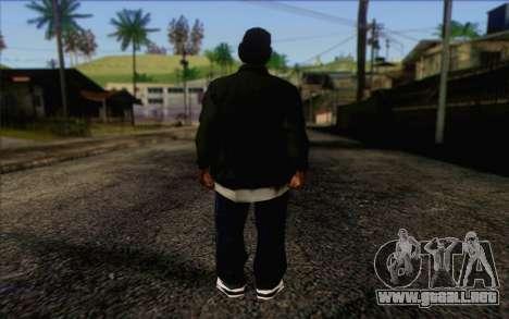 N.W.A Skin 3 para GTA San Andreas segunda pantalla