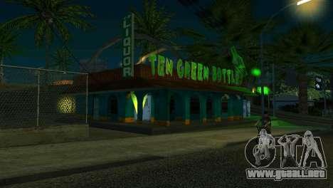 Nuevo bar en Ganton para GTA San Andreas sucesivamente de pantalla