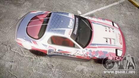 Mazda RX-7 Forge Motorsport para GTA 4 visión correcta