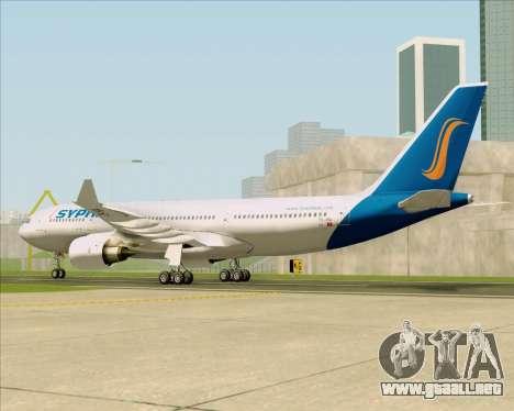Airbus A330-200 Syphax Airlines para la visión correcta GTA San Andreas